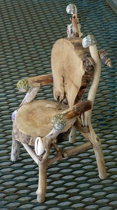 HOW TO MAKE MINIATURE TWIG FURNITURE - Google Search                                                                                                                                                                                 More
