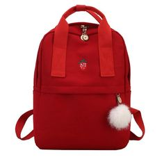 045048566997 schoolbag Korean Style Canvas Shoulder Bag Laptop Backpack Female School  Bags Pack For Teenager Sac A Dos Femme