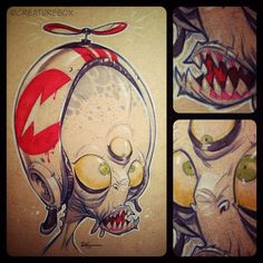 Scribbles :CreatureBox