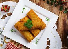 Krokiety dziadowskie - przepis ze Smaker.pl Flat Belly, Cornbread, Bbq, Cooking, Ethnic Recipes, Food, Flat Stomach, Millet Bread, Barbecue