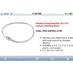 Must have a pandora bracelet.