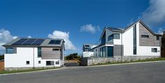 Private Houses, New Residential Development, New Polzeath in Polzeath, Cornwall by Devon Architects Trewin Design Architects