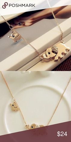 1 hour SALE ⬛️⬛️⬛️⬛️⬛️⬛️📣📣📣Elephant necklace Brand new Jewelry Necklaces