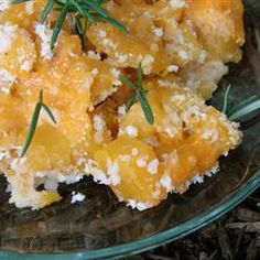 """Merritt's Butternut Squash Gratin   """"This was a hit at our house....we have veggie night once a week. This week butternut squash was the main course. This recipe was great!"""""""