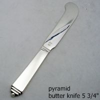 Pyramid// Pyramide Georg Jensen Silver Pastry Server VINTAGE