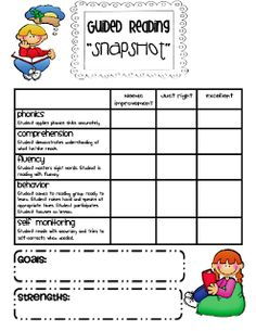 "FREE Guided Reading Assessments! ....Follow for Free ""too-neat-not-to-keep"" teaching tools & other fun stuff :)"