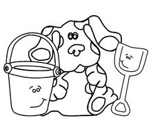 Blues Clues 19 coloring page - Free Printable Coloring Pages ...