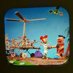 "LANCE CARDINAL: ""THE FLINTSTONES PEBBLES AND BAMM-BAMM"" VINTAGE VIEW-MASTER REELS (#4)"