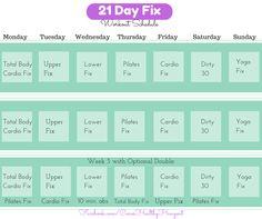 21 day fix printable workout calendar more printable workouts body ...