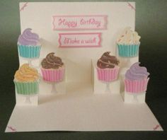 Vicki's Card Making - Pop up card.