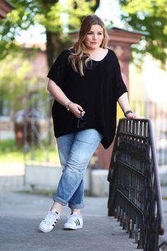 CURVY BEAUTIES // Plus Size Look Jeans