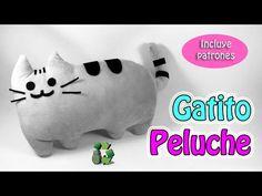 199. Manualidades: Como hacer gatito pusheen de peluche (Reciclaje) Ecob...