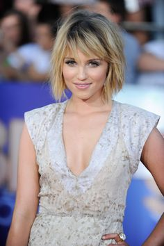 Dianna Agron. Haircut inspiration for next week! Cut and color.