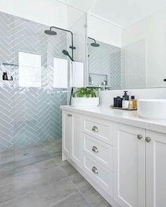 Home Interior Bathroom .Home Interior Bathroom Hampton Style Bathrooms, Chic Bathrooms, Amazing Bathrooms, Ensuite Bathrooms, Bathroom Vanities, Bathroom Styling, Bathroom Interior Design, Home Interior, Bad Inspiration