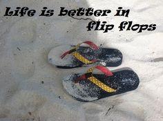 Life is better in flip flops!   www.pgcruises.com