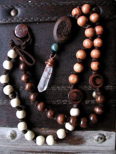 Triple Goddess Prayer Beads