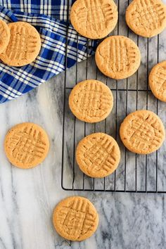 3 Ingredient Peanut Butter Cookies are a great after school snack. And so easy you can make them once a week.