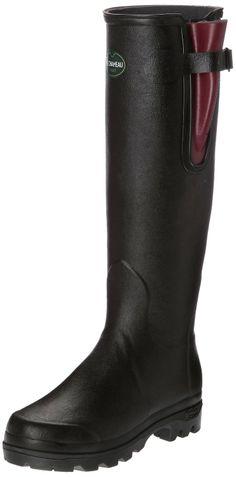 cd5b941d6 Amazon.com: Le Chameau Footwear Women's Vierzon Lady II Rain Boot: Shoes -179.00