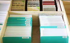 Kelly Rasmussen Clear Stamp Storage 1