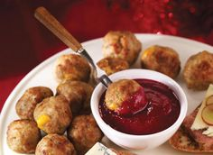 Cheddar Stuffed Meatballs With Rosemary. Use beef, turkey, or pork in place of veal.
