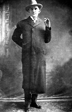 """Notorious killer Jim Millerames """"Jim"""" Brown Miller, aka: """"Deacon"""" Miller, """"Killer Miller (1861-1909) - One of the worst of the many violent men of the Old West, James B. Miller was seemingly one of those """"bad seeds"""" from an early age. Often impeccably dressed with good manners, he didn't smoke or drink and often attended church, earning him the nickname """"Deacon Miller."""" But, he was a wolf in sheep's clothing."""