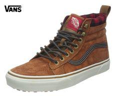 ¡Chollo! Zapatillas unisex Vans U Sk8-Hi Mte de cuero por sólo 30 euros. 70% de descuento.