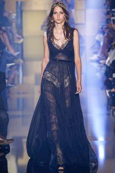 Elie Saab | Fall/Winter 2015 Couture Collection via Designer Elie Saab | Modeled by Waleska Gorczevski (OUI) | Paris, July 8, 2015