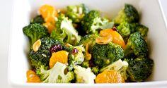Mandarin Orange Broccoli Salad, I especially love that it doesn't have any raisins in it!