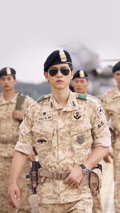 Descendants Of The Sun Heygyo Joonggi Military iPhone 6 wallpaper