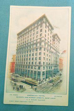 American Hotel - St. Louis