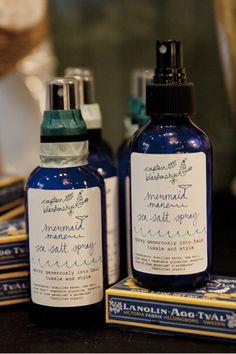 Captain Blankenship Mermaid Sea Salt Hair Spray, $22, available at Shops.