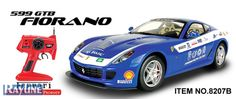 RC Auto 8207B MJX Ferrari 599 GTB Fiorano Racing Editon in blau