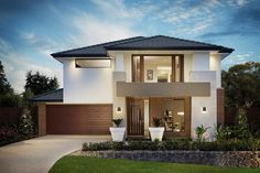 The evermore a contemporary new home design for laneway style lots sahara series malvernweather Choice Image