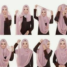 - Beautiful chest coverage hijab – i& try this and its easy! Beautiful chest coverage hijab – i& try this and its easy! Square Hijab Tutorial, Simple Hijab Tutorial, Hijab Style Tutorial, Pashmina Hijab Tutorial, Diy Tutorial, Hijab Outfit, Girl Hijab, Hijab Dress, Turban Hijab