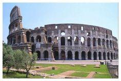The Roman Colosseum.