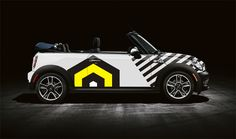 Head turning MINI car wraps by ACCESS Agency