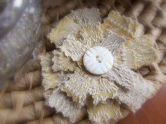 Fabric Flower… Delightful Tutorials | Official Blog of Lisa M ...