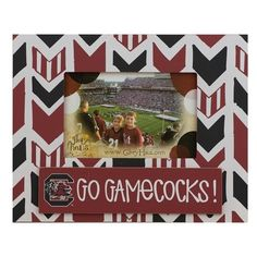 Glory Haus 'Collegiate Arrow' Frame (€21) ❤ liked on Polyvore featuring home, home decor, frames, university of south carolina, arrow home decor and glory haus