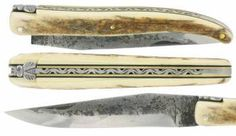 Laguiole knife Mammoth Brut de Forge IWA2003