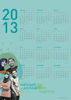 customized calendar, perfect for Valentine Gift!