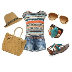 Spring Break!, created by janilebaron on Polyvore