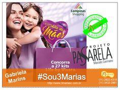 Gabriela Marins para Campinas Shopping - Dia das Mães.