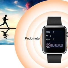 W001 Bluetooth V4.1 Smart Watch, Dialer, Music, Anti – lost, Pedometer, SMS, Camera Control.