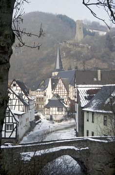 Monschau in Winter