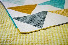 Flagged Quilt: Mini Tutorial + Giveaway! by jenib320, via Flickr