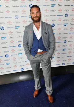 Tom Hardy. Why I love the beard, I'm not sure.