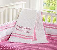 Harper Pink Nursery Bedding #pbkids