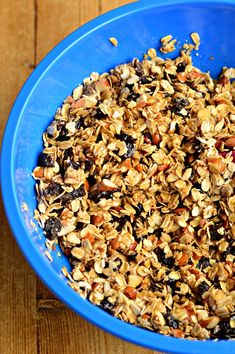 How to make granola at home- cheaper and healthier than store-bought! Customize to your family's taste.