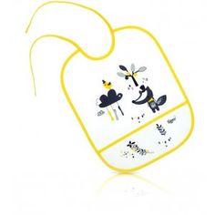 Tigex - Babero Eva   Tigex ofrece una extensa gama de productos divertidos y versátiles que ayudan a los papás enormemente durante las horas de las comidas. Entre ellos destacan su gran surtido de baberos entre los que encontramos los de Eva, diseñados con material extra resistente y plastificado que protegen al bebé de forma impermeable y además son de fácil lavado ya que basta con una esponja húmeda para limpiarlos.