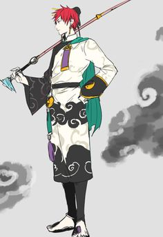 Akashi Seijūrō 赤司 征十郎   Rakuzan Kōkō   Kuroko no Basket   ずっと赤司くんに太公望の衣装着せたかった